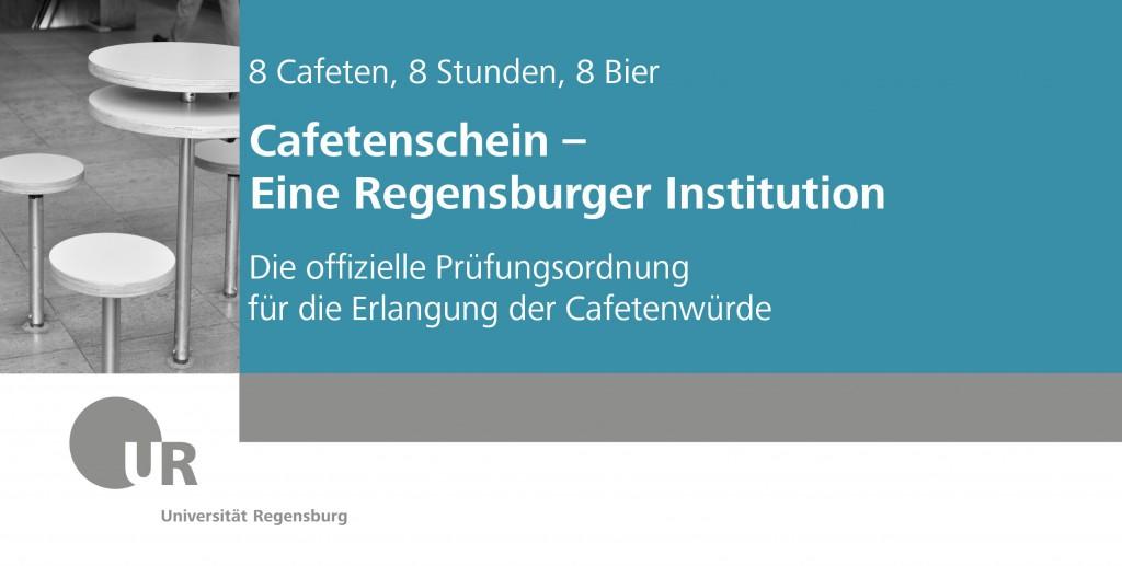 Cafetenschein: Eine Regensburger Institution