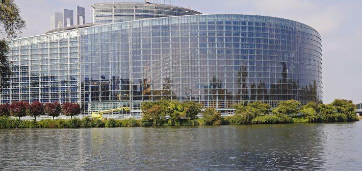 Das Europäische Parlament in Straßburg
