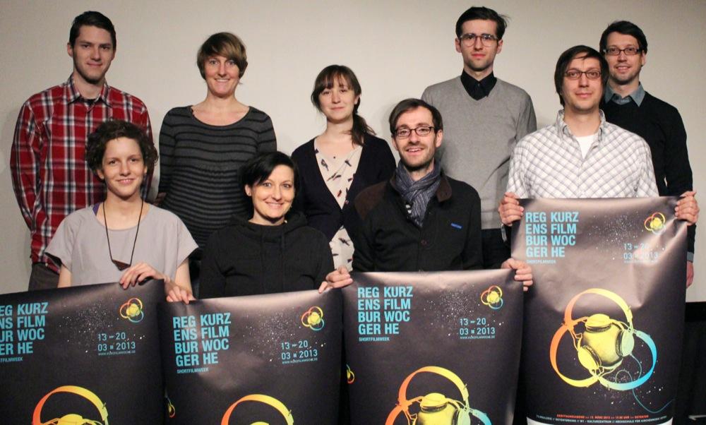 Das Organisationsteam der Regensburger Kurzfilmwoche