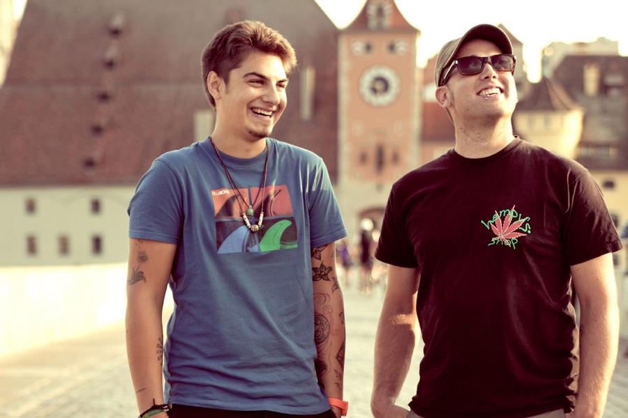 Das Duo aus Regensburg