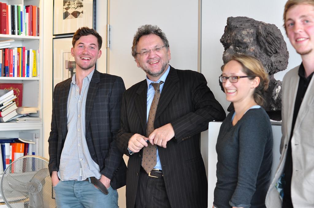 Gruppenbild mit Redaktionsgott. / Foto: Pia Weishäupl