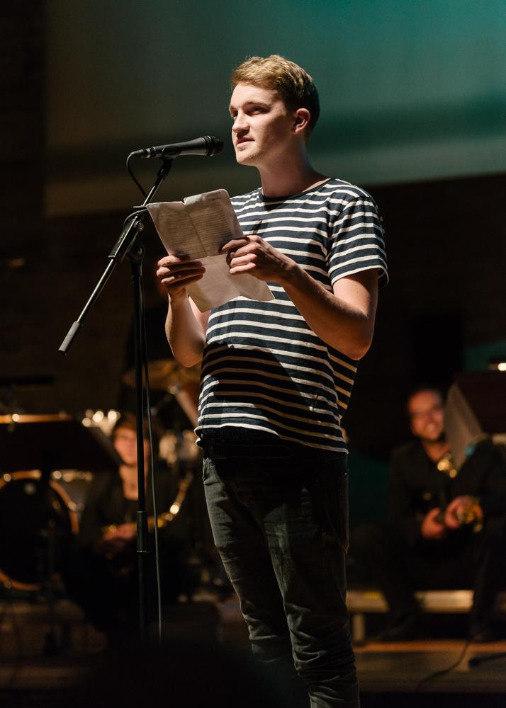 Poetry Slamer Indiana Jonas ist der Gewinner des Abends