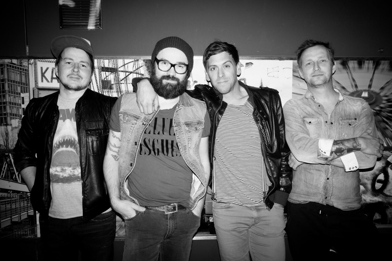 """Trotz Sängerwechsels war der Auftritt der neu formierten Band """"Jupiter Jones"""" ein rießen Erfolg am P:O:A"""