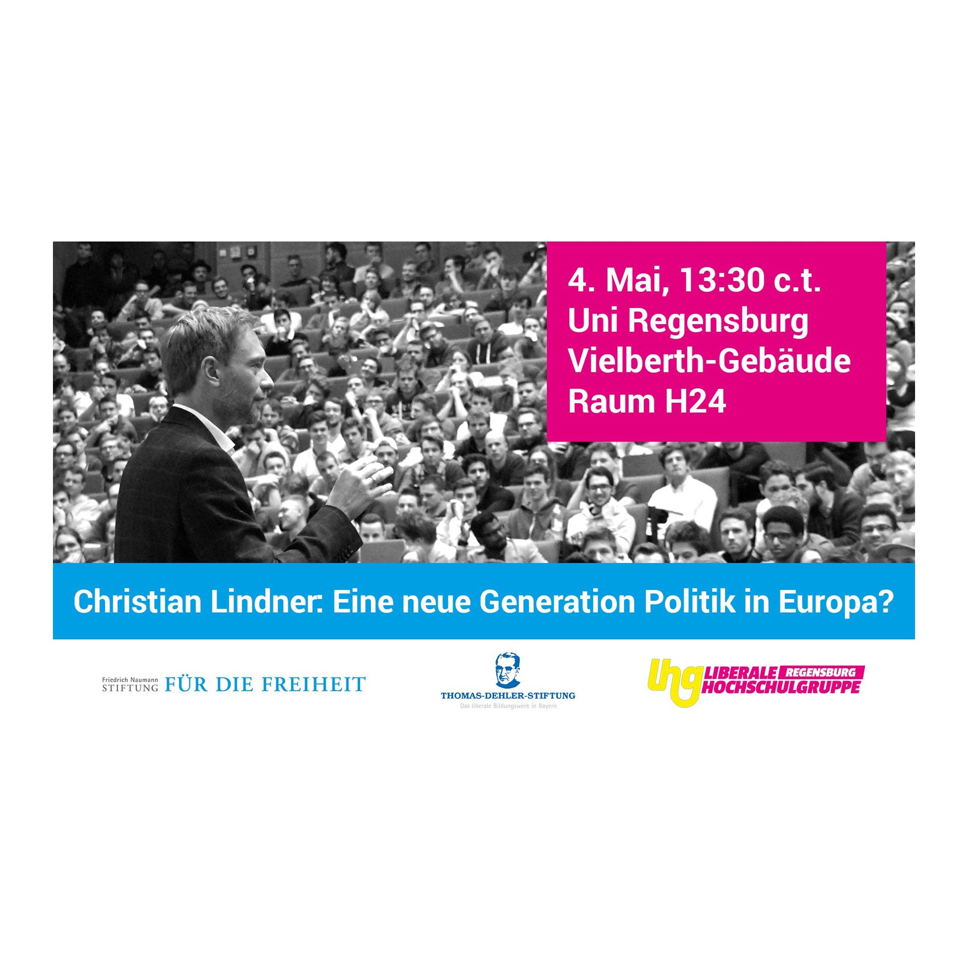 Christian Lindner zu Gast in Regensburg