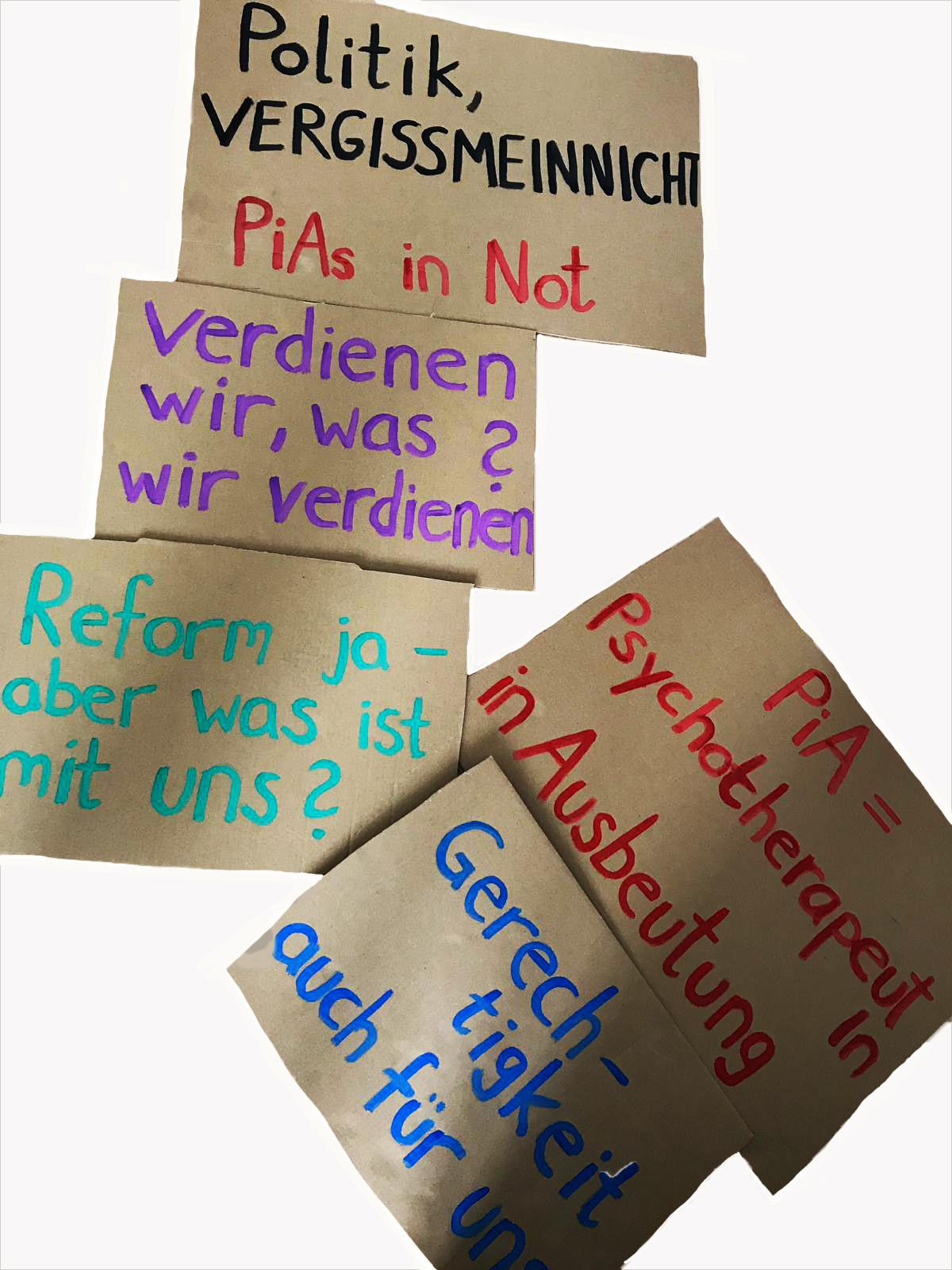 PiAs – Psychotherapeuten in Ausbeutung – Der Kampf geht weiter!