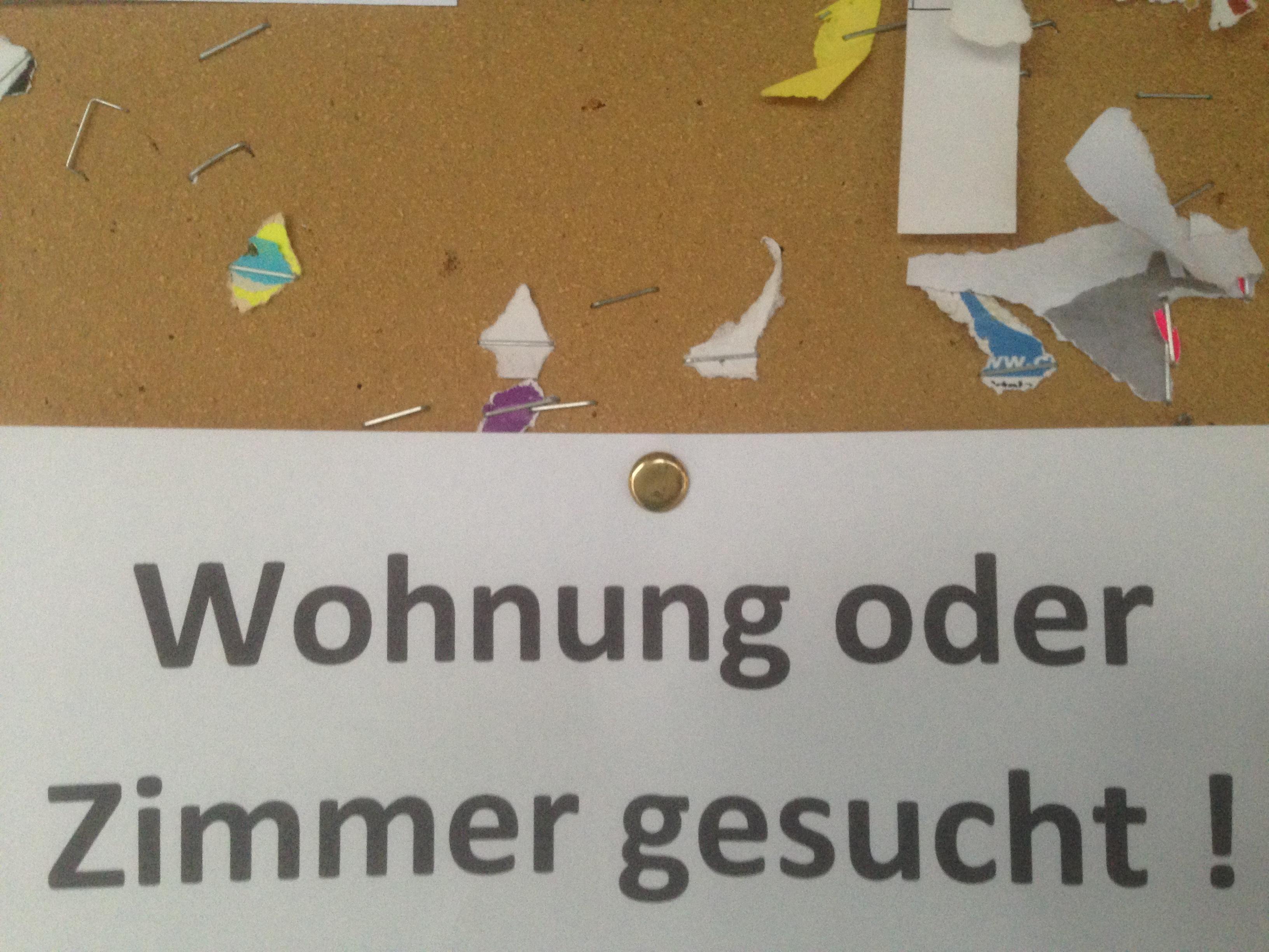 Bitte lächeln, WG-Bewerber-Nr. 61!