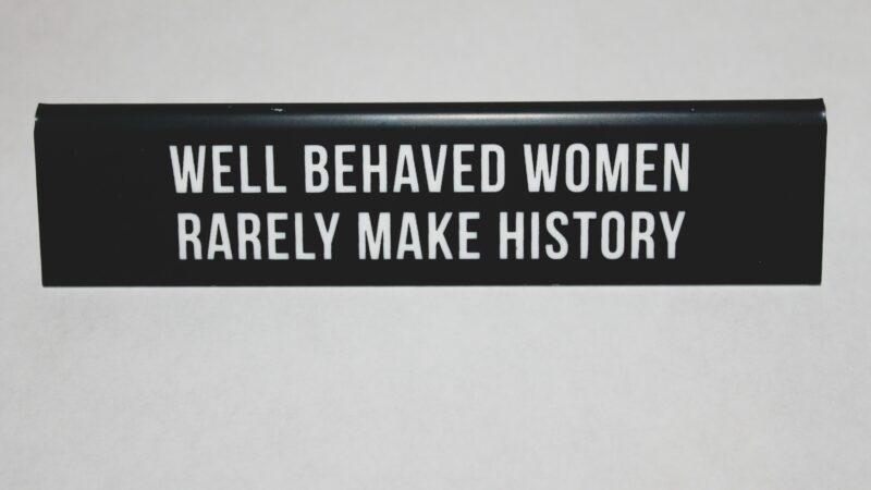 Feminis:muss: Frau FLOTUS hat genug