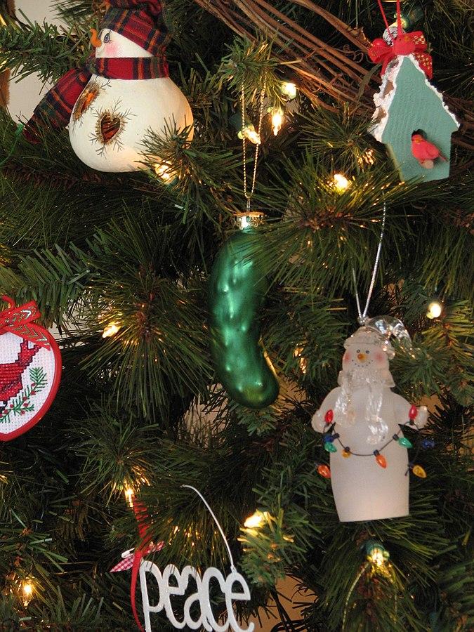 Weihnachtstraditionen: Die Weihnachtsgurke