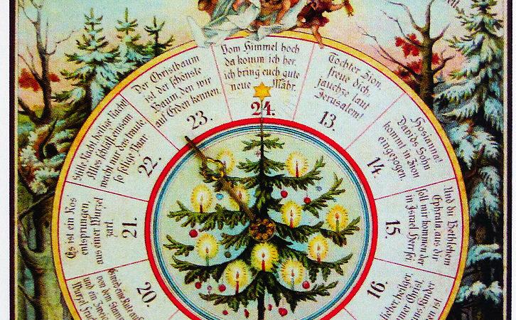 Woher kommt eigentlich die Tradition des Adventskalenders?