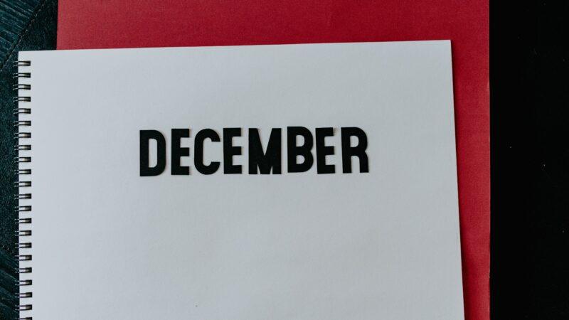 Back in December of …